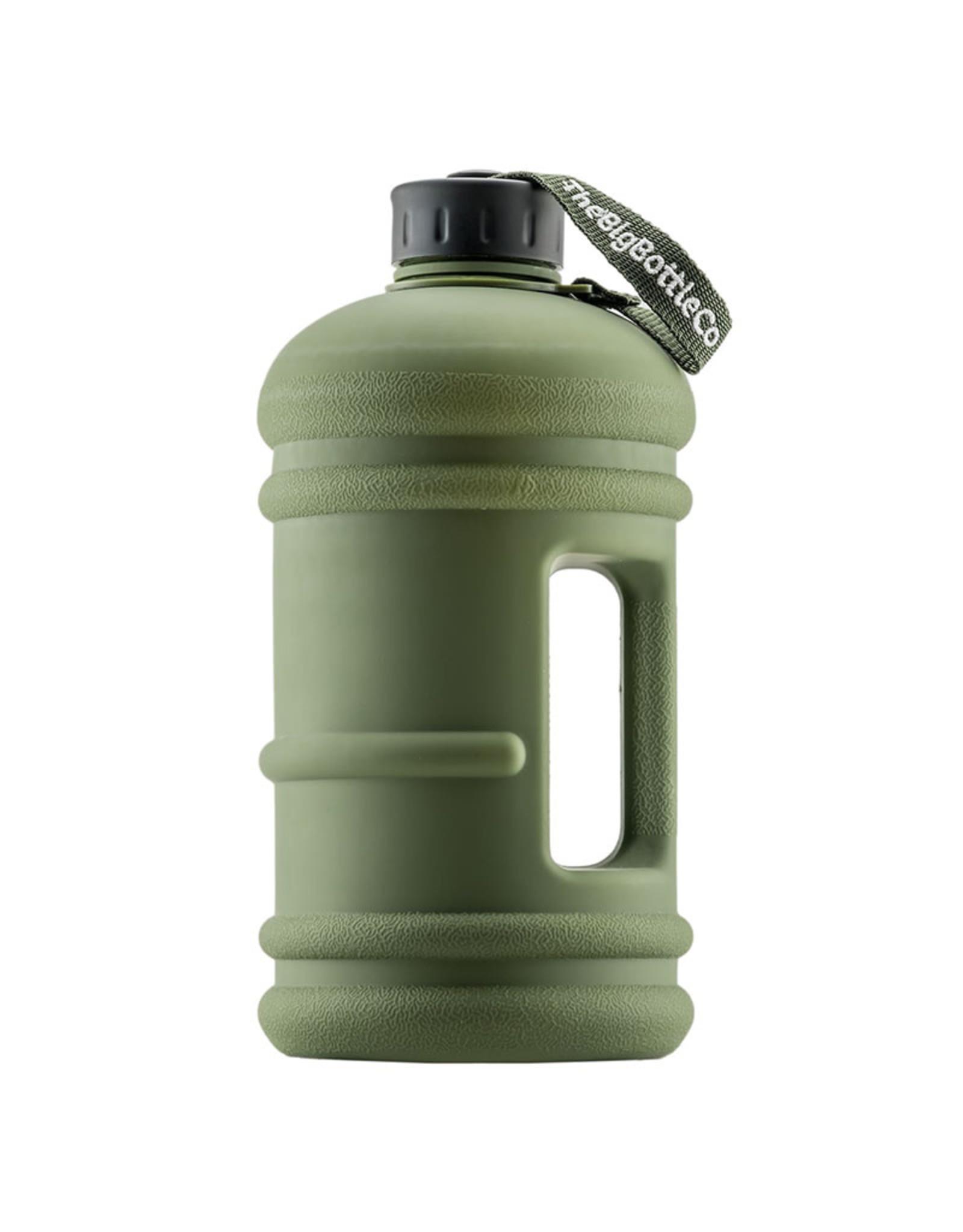 Big Bottle Co. Big Bottle Co. - Bouteille de Plastique - Collection Elite, Commando Noir (2.2L)