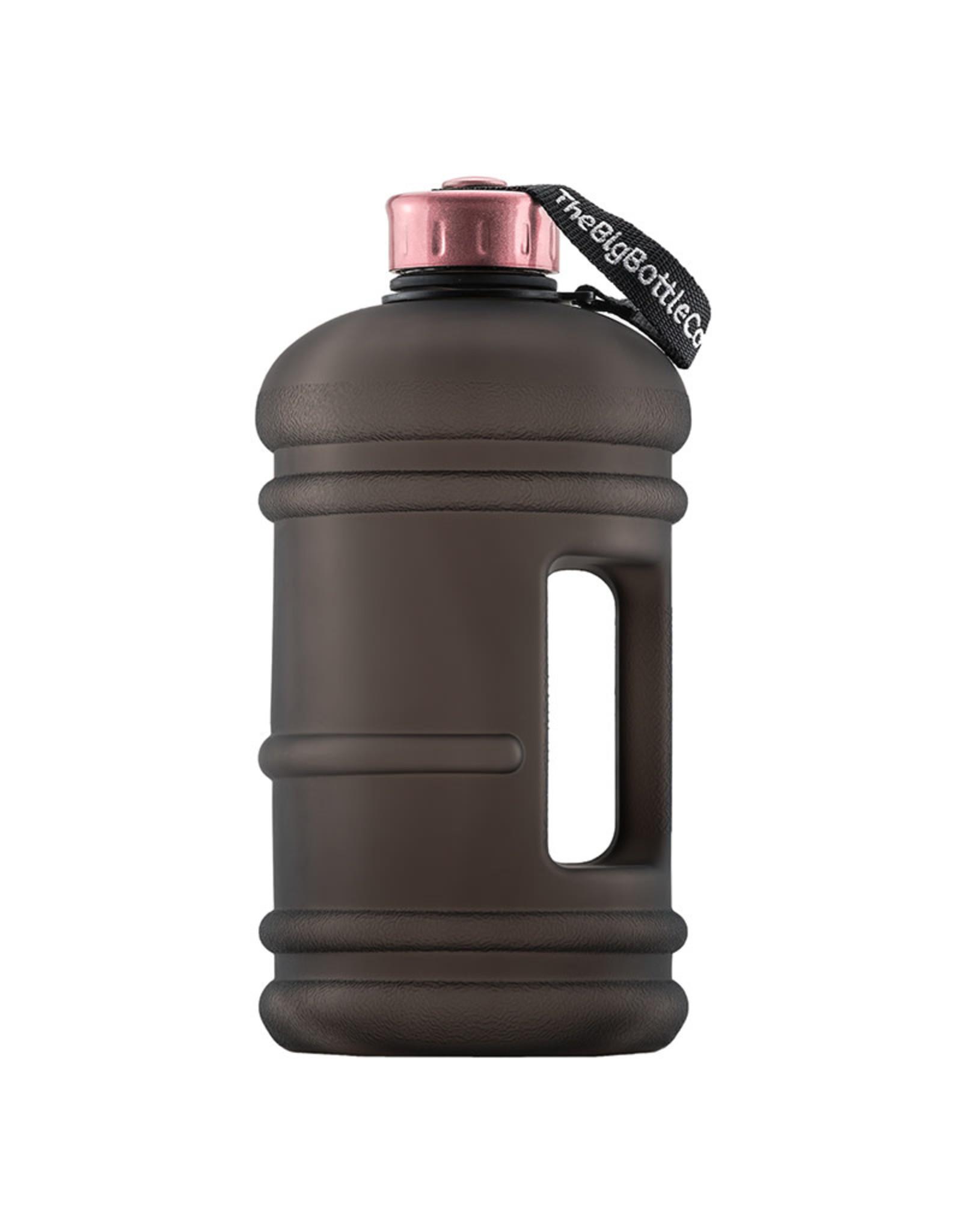 Big Bottle Co. Big Bottle Co. - Bouteille de Plastique - Collection En Or Rose, Rose Noire (2.2L)