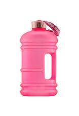 Big Bottle Co. Big Bottle Co. - Bouteille de Plastique - Collection En Or Rose, Rose Poudré Givré (2.2L)