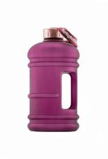 Big Bottle Co. Big Bottle Co. - Bouteille de Plastique - Collection En Or Rose, Rose Prune (2.2L)