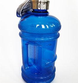 Big Bottle Co. Big Bottle Co. - Bouteille de Plastique - Collection Gloss, Grande Bleue (2.2L)