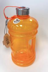 Big Bottle Co. Big Bottle Co. - Bouteille de Plastique - Collection Gloss, Grande Orange (2.2L)