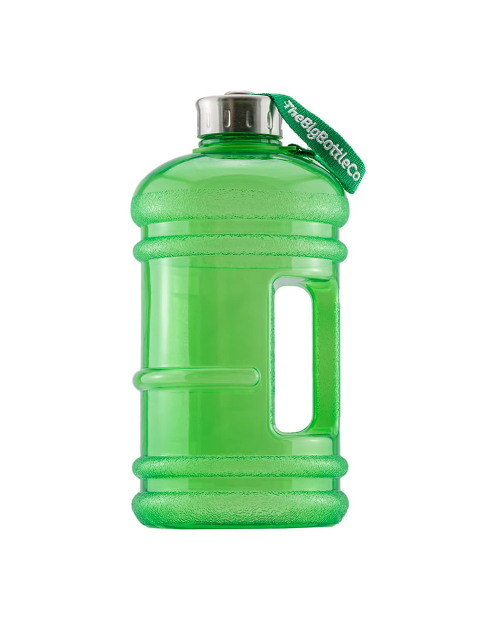 Big Bottle Co. Big Bottle Co. - Bouteille de Plastique - Collection Gloss, Grande Verte (2.2L)