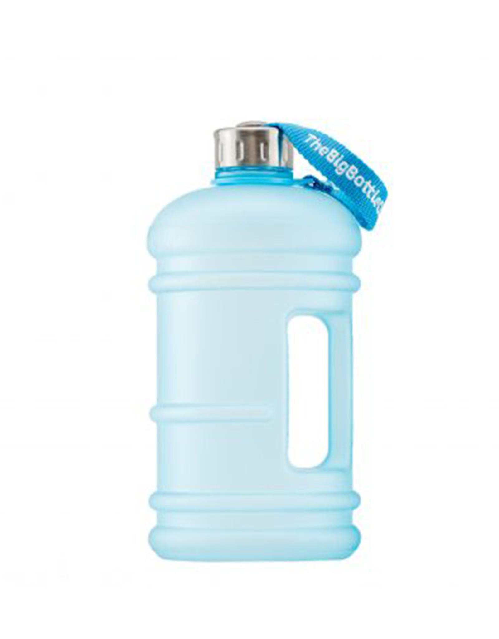 Big Bottle Co. Big Bottle Co. - Bouteille de Plastique - Série Traveler, Aqua Givré (1.5L)