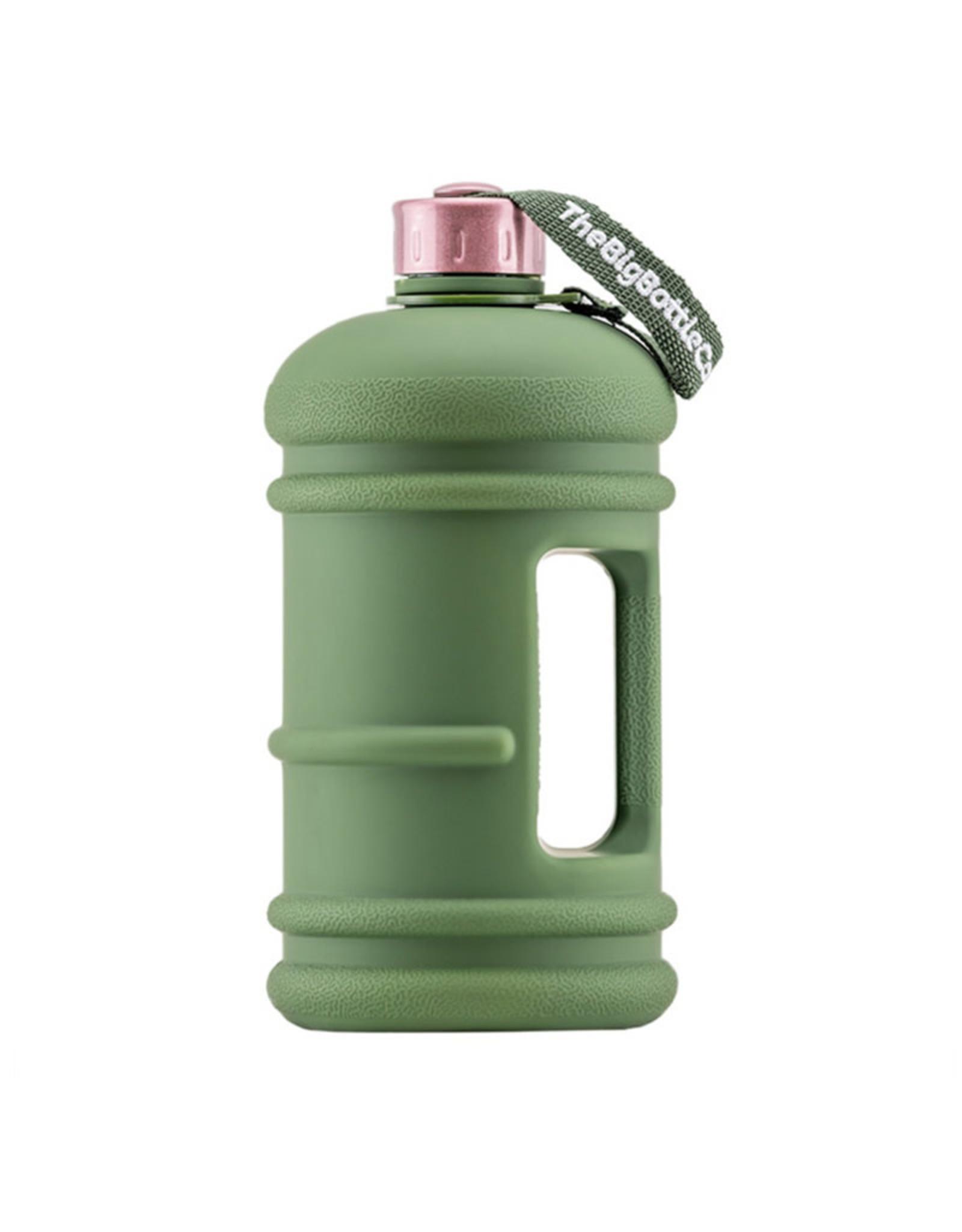 Big Bottle Co. Big Bottle Co. - Bouteille de Plastique - Série Traveler, Commando Rose (1.5L)