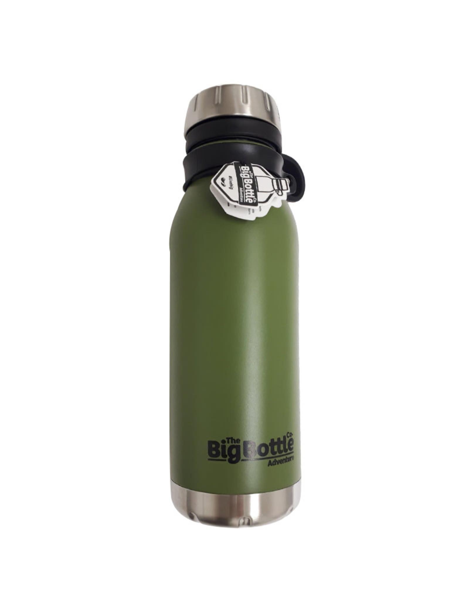 Big Bottle Co. Big Bottle Co. - Bouteille Isolée Acier Inox, Commando Adventure (500ml)