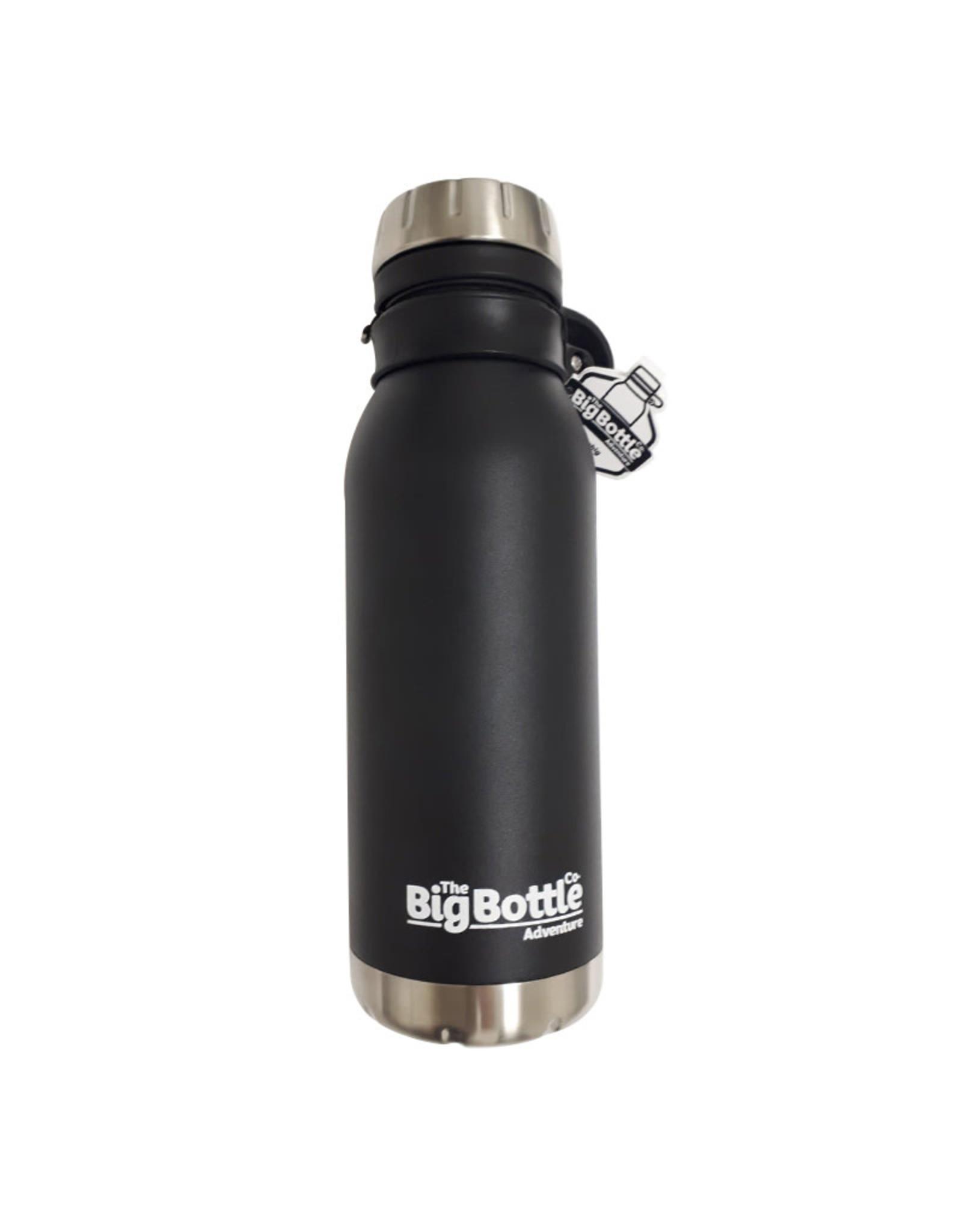 Big Bottle Co. Big Bottle Co. - Bouteille Isolée Acier Inox, Jet Black Adventure (500ml)