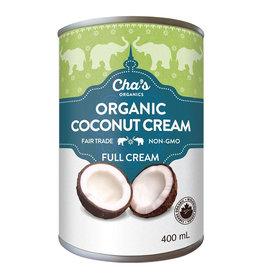 Cha's Organics Cha's Organics - Crème de Coco (400ml)