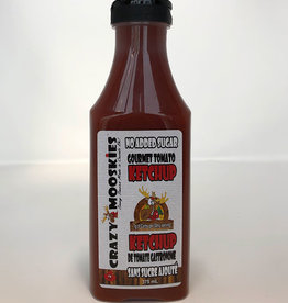 Crazy Mooskies Crazy Mooskies - Ketchup Sans Sucre Ajouté Avec Stevia, Original (350ml)