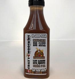 Crazy Mooskies Crazy Mooskies - Sauce BBQ Sans Sucre Ajouté, Ail Smok'N (375ml)
