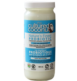 Cultured Coconut Cultured Coconut - Kéfir de Culture de Noix de Coco (500ml)