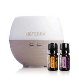 doTERRA doTERRA - Collection Petal Essentials, Diffuseur + Lavande + Orange Sauvage