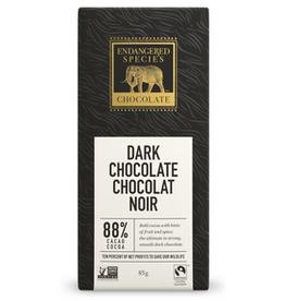 Endangered Species Endangered Species - Tablette de Chocolat Noir, Panthère Extrême 88% (85g)
