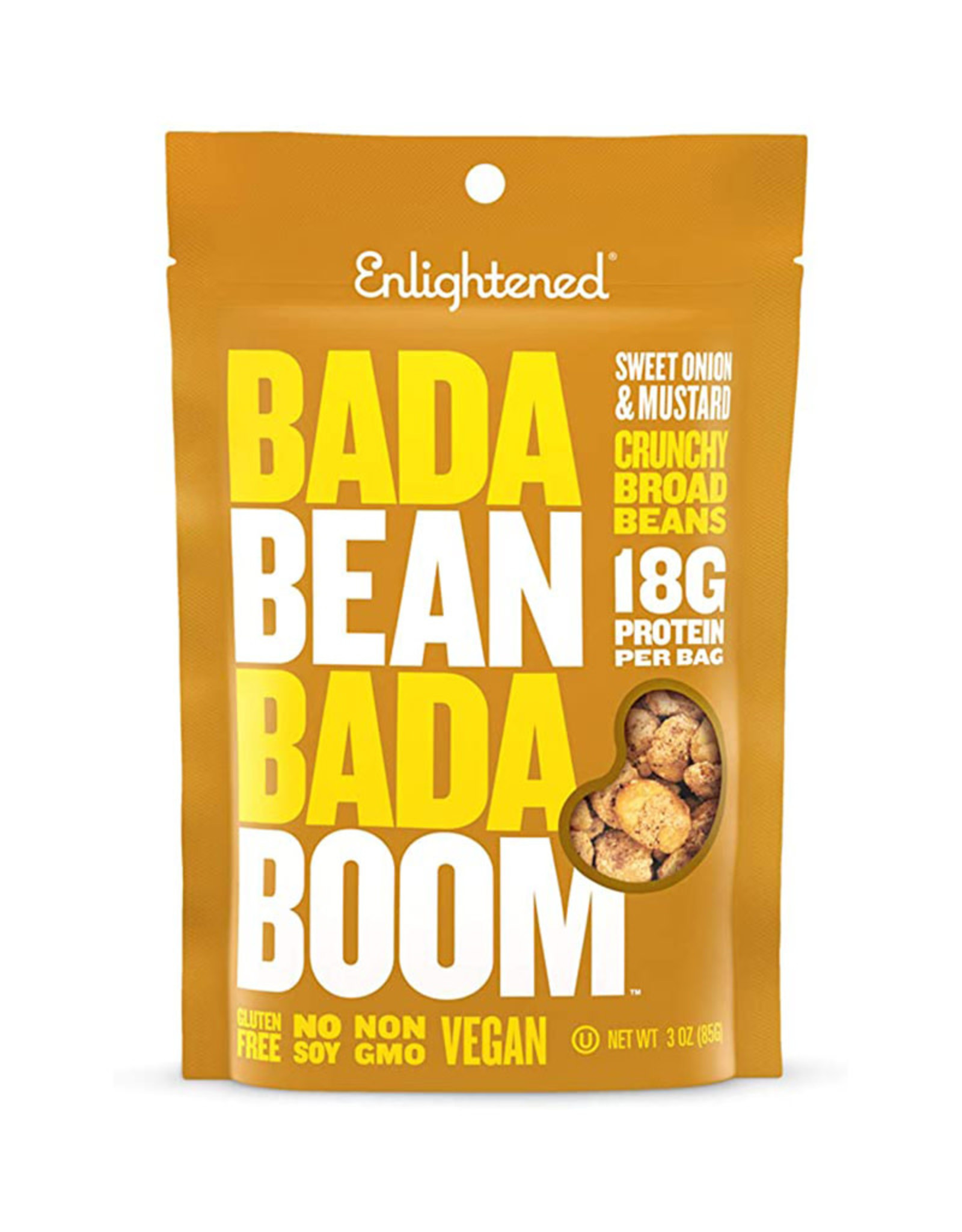 Enlightened Enlightened - Gourganes Bada Bean, Oignon Doux & Moutarde (85g)