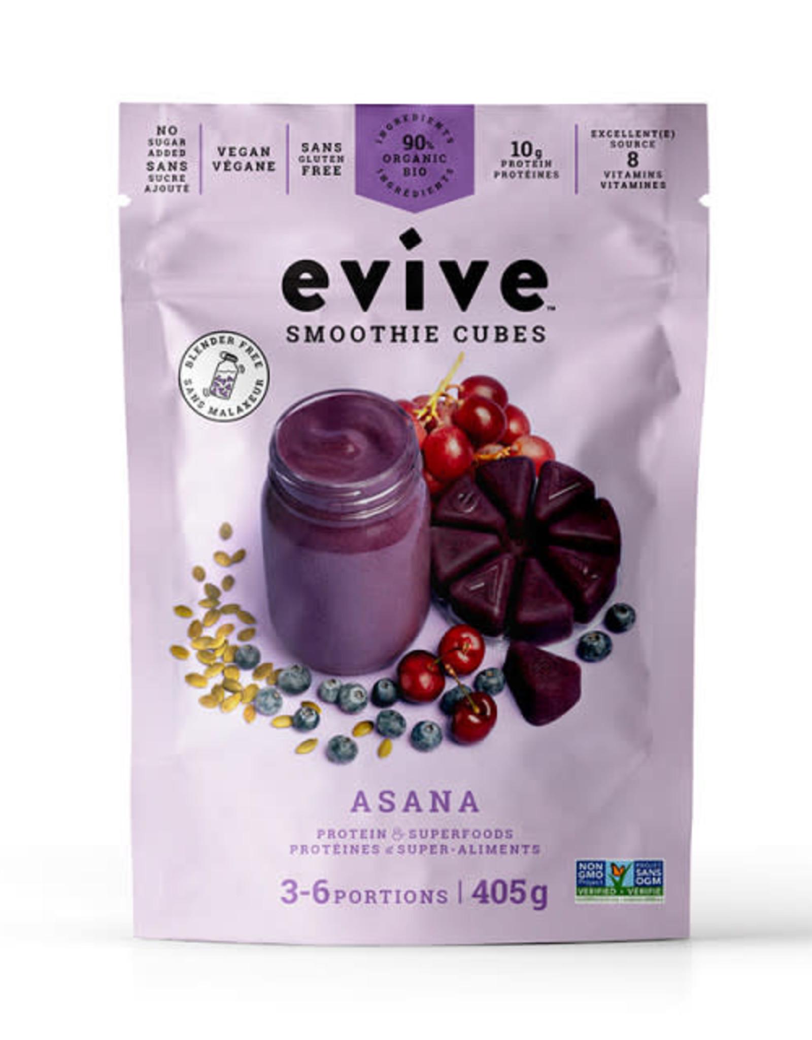 Evive Evive - Smoothie En Cube, Asana (405g)