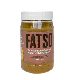 Fatso Fatso - Beurre d'Arachide, Caramel Salé Croquant (500g)