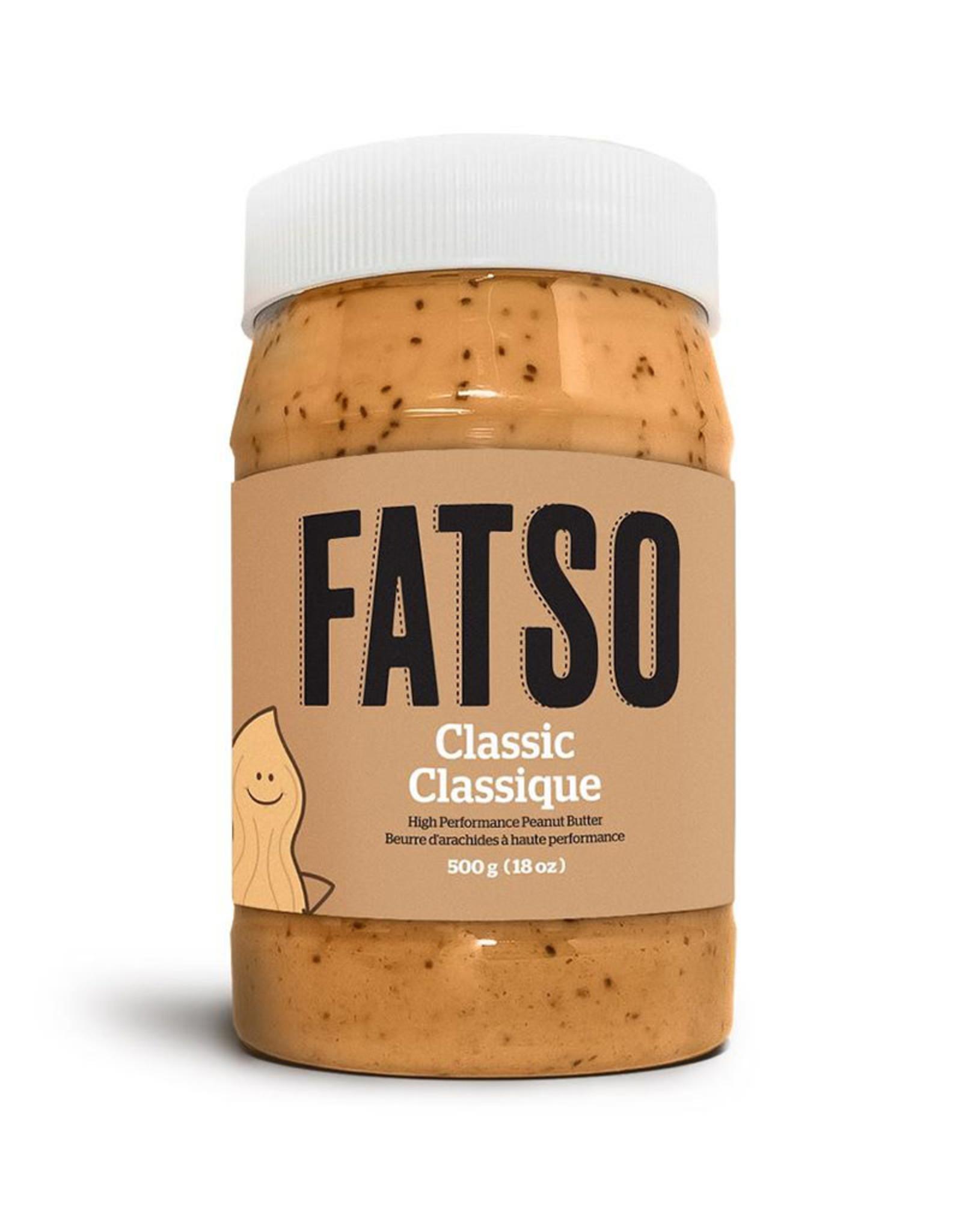 Fatso Fatso - Beurre d'Arachide, Original (500g)