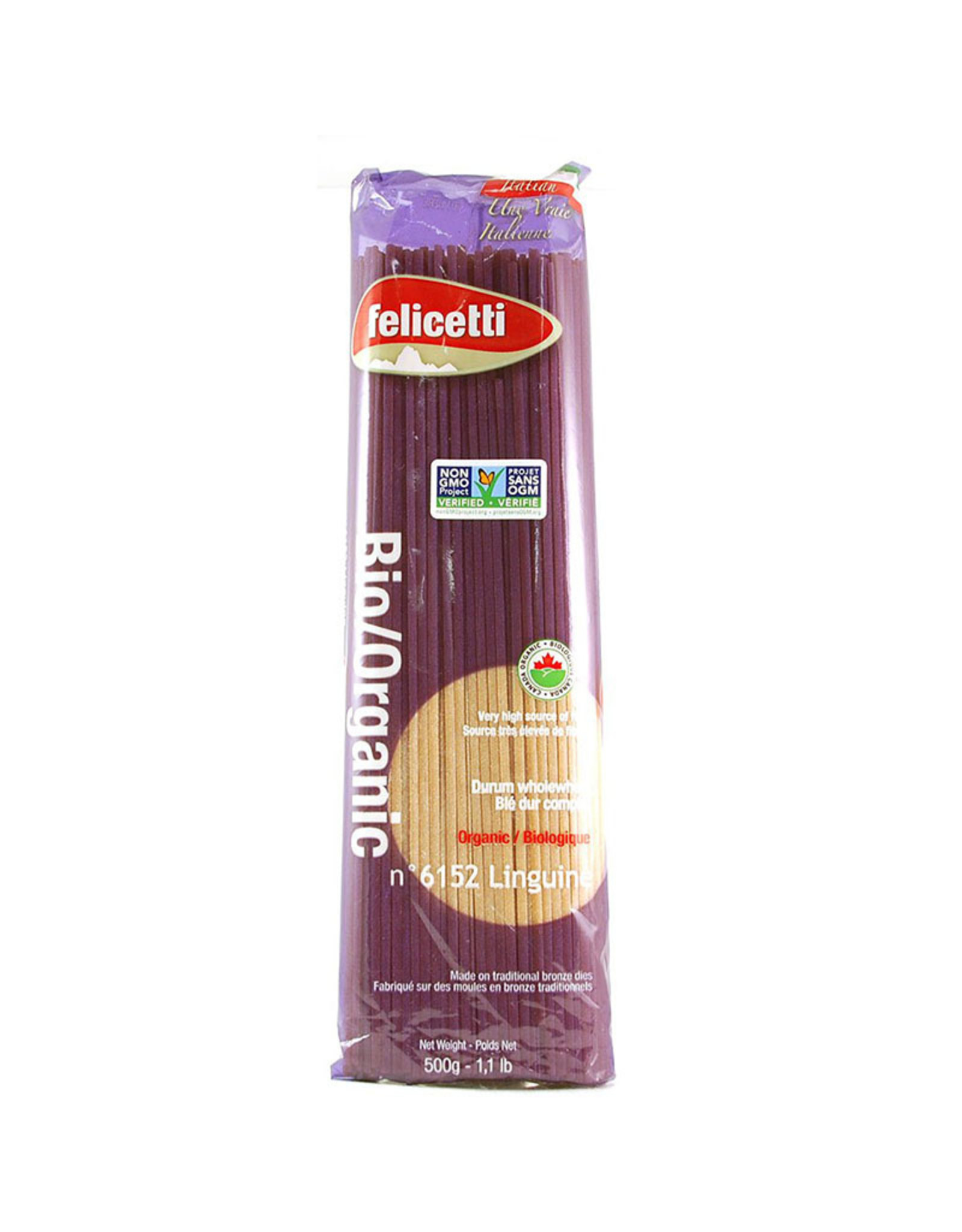 Felicetti Pasta Felicetti Pasta - Pâtes, Linguine Blé Complet (500g)