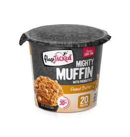Flapjacked Flapjacked - Mighty Muffins, Beurre d'Arachide (1.94oz)