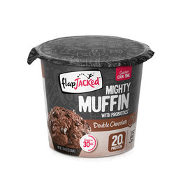 Flapjacked Flapjacked - Mighty Muffins, Double Chocolat (1.94oz)