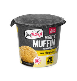Flapjacked Flapjacked - Mighty Muffins, Graine de Pavot Citron (1.94oz)