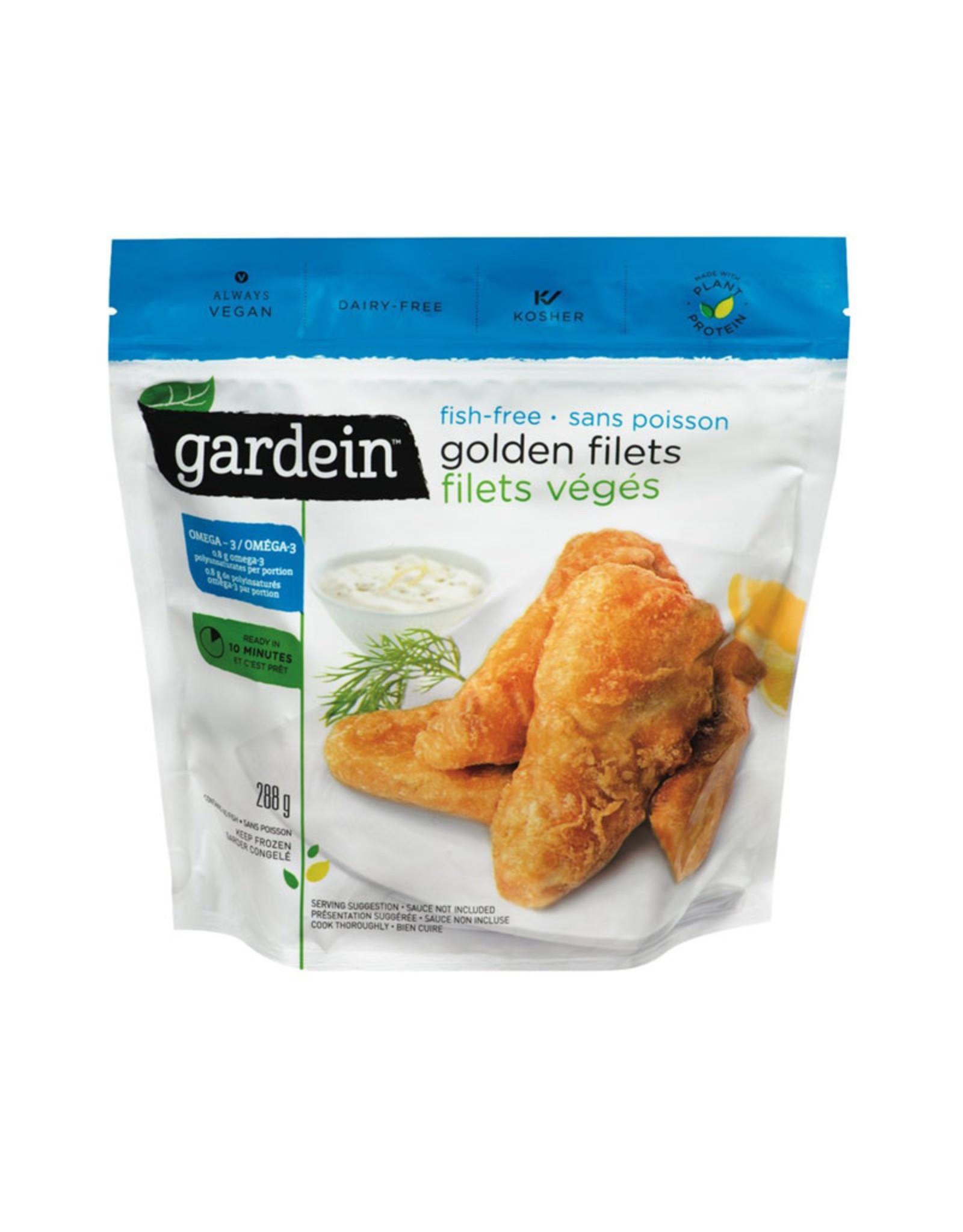 Gardein Gardein - Produit Végétalien, Filet Doré Sans Poisson (288g)