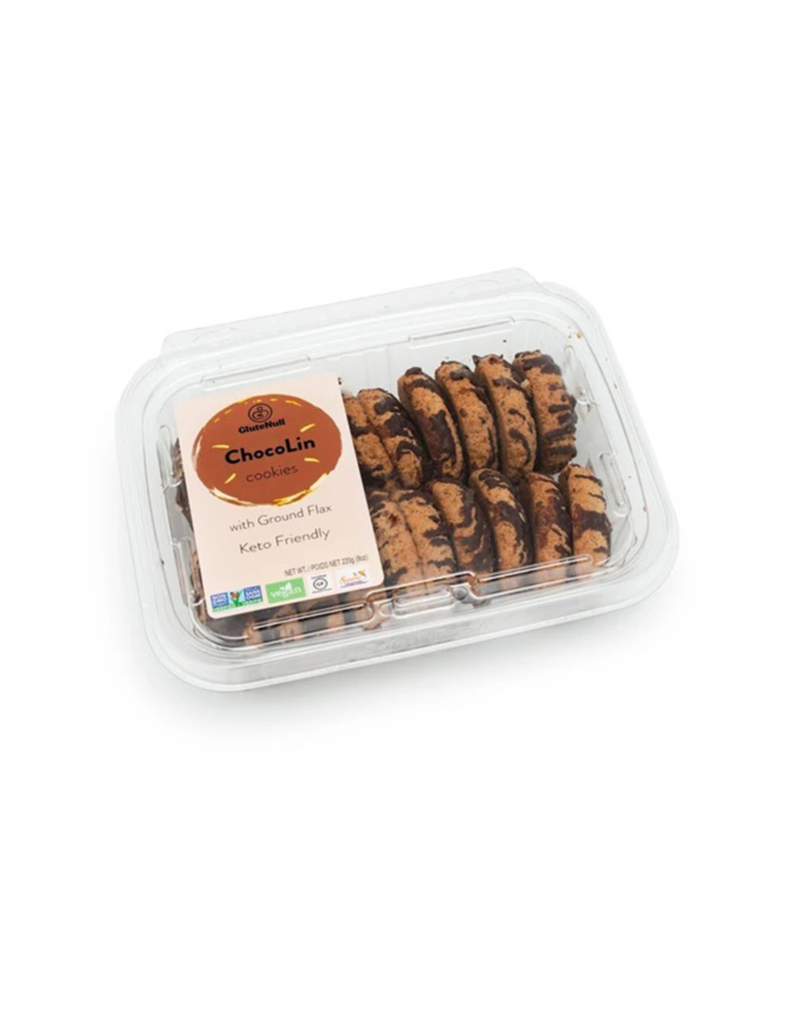 Glutenull Bakery Glutenull Bakery - Biscuits Keto, Chocolin (220g)