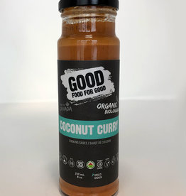Good Food For Good Good Food For Good - Sauce, Coconut Curry Bio (250ml)