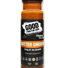 Good Food For Good Good Food For Good - Sauce, Poulet au Beurre Bio (250ml)