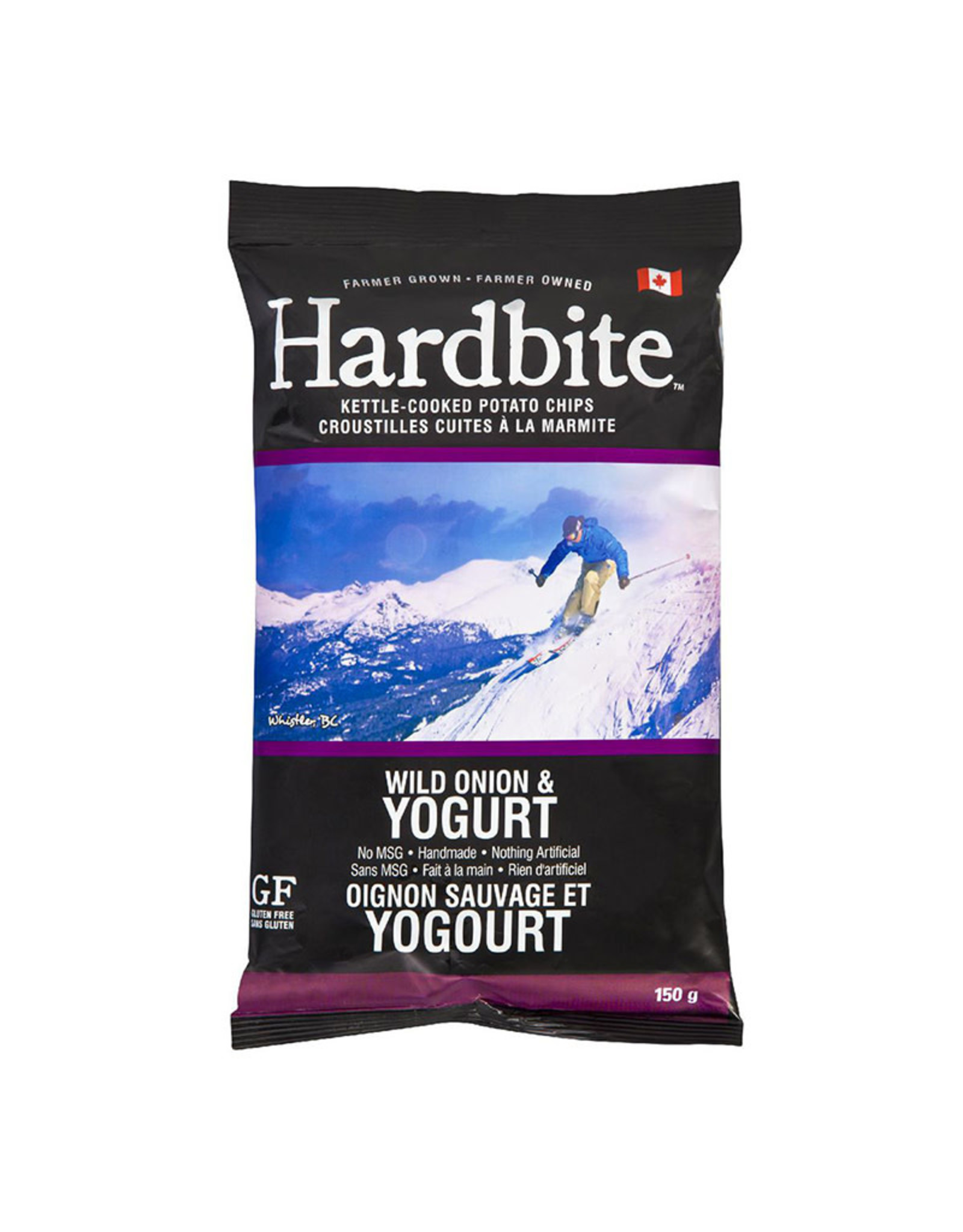 Hardbite Hardbite - Croustilles, Oignon Sauvage & Yogourt (150g)