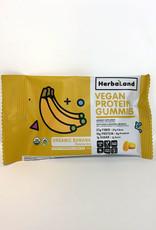 Herbaland Herbaland - Jujubes Protéinés, Banane Bio (50g)