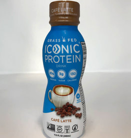 Iconic Protein Iconic Protein - Boisson Protéinée, Café au Lait (340ml)