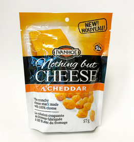 Ivanhoe Ivanhoe - Collation Croquante de Fromage, Cheddar (57g)