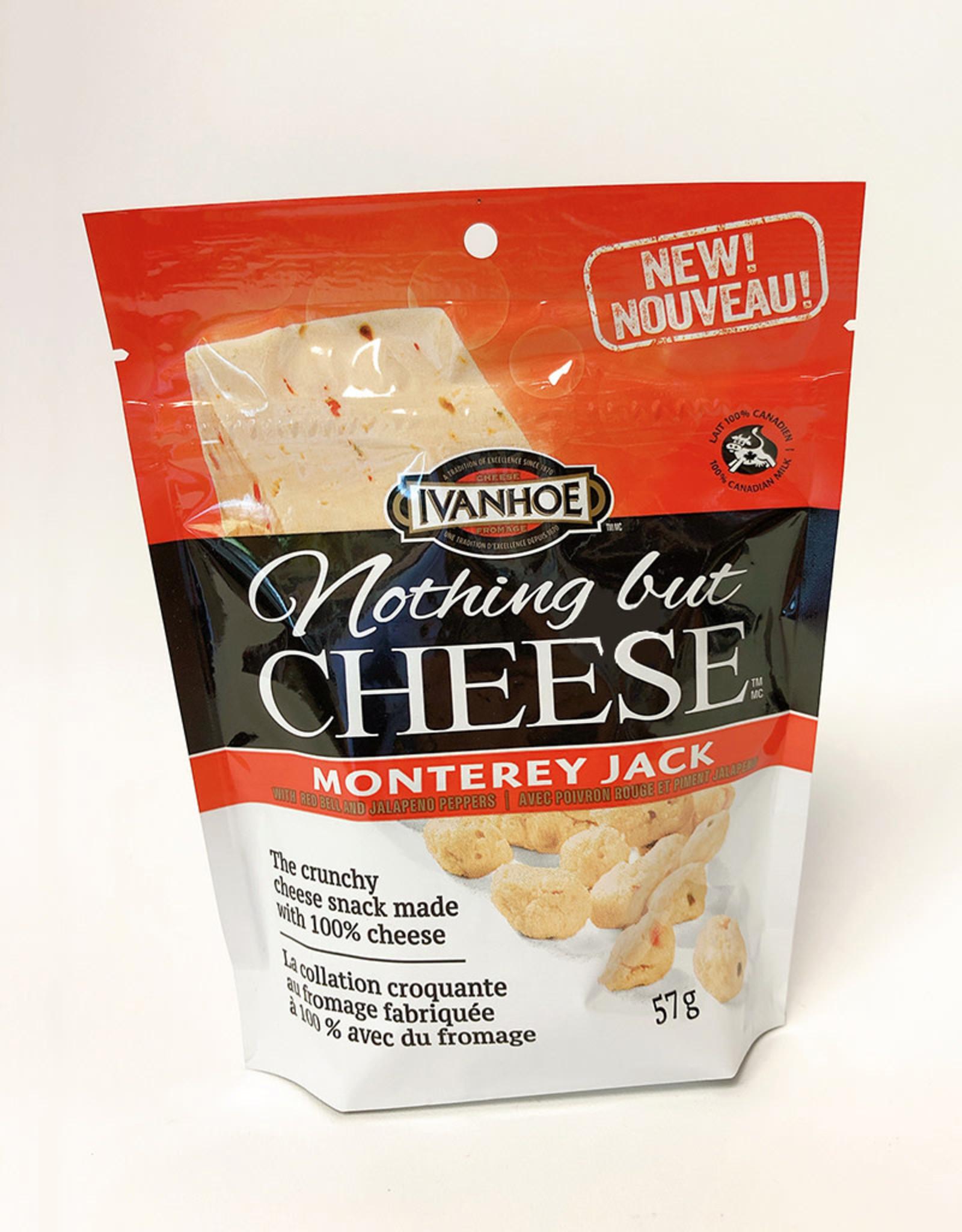 Ivanhoe Ivanhoe - Collation Croquante de Fromage, Monterey Jack (57g)