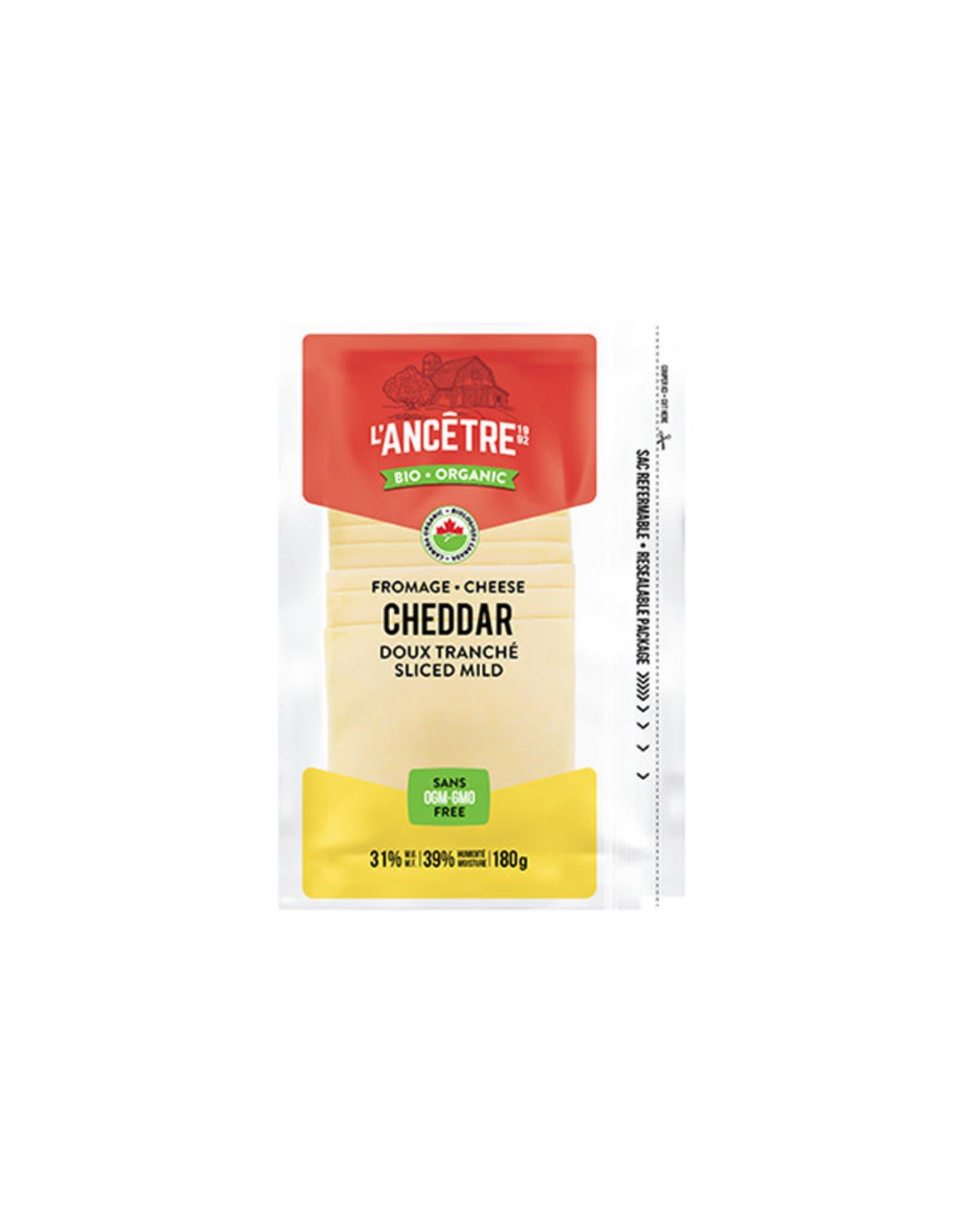 L'Ancêtre L'Ancêtre - Fromage, Cheddar Doux Bio En Tranches (180g)