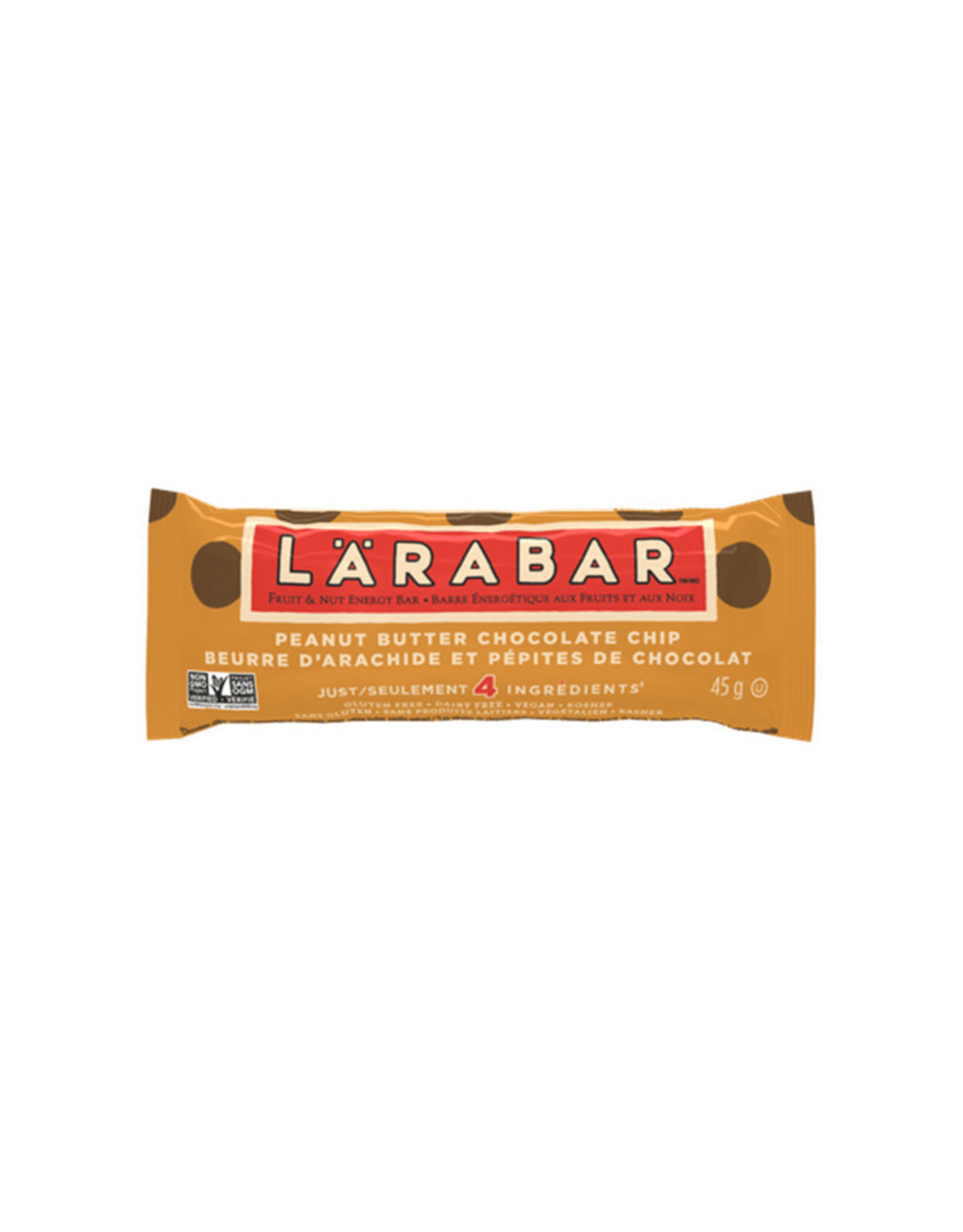 Larabar Larabar - Barre Énergétique, Beurre d'Arachide Pépite de Chocolat (45g)