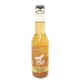 Les Chants du Fleuve Les Chants du Fleuve - Kombucha, Pomme & Gingembre (330ml)