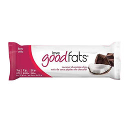 Love Good Fats Love Good Fats - Barre Collation, Pépite de Chocolat à la Noix de Coco (39g)