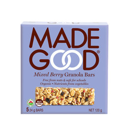 Made Good Made Good - Barre Granola, Baies Mixtes (5x24g)