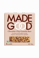 Made Good Made Good - Barre Granola, Pépites de Chocolat (5x24g)