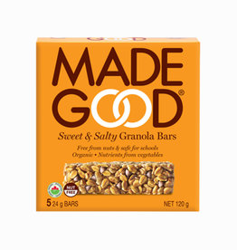 Made Good Made Good - Barre Granola, Sucré & Salé (5x24g)