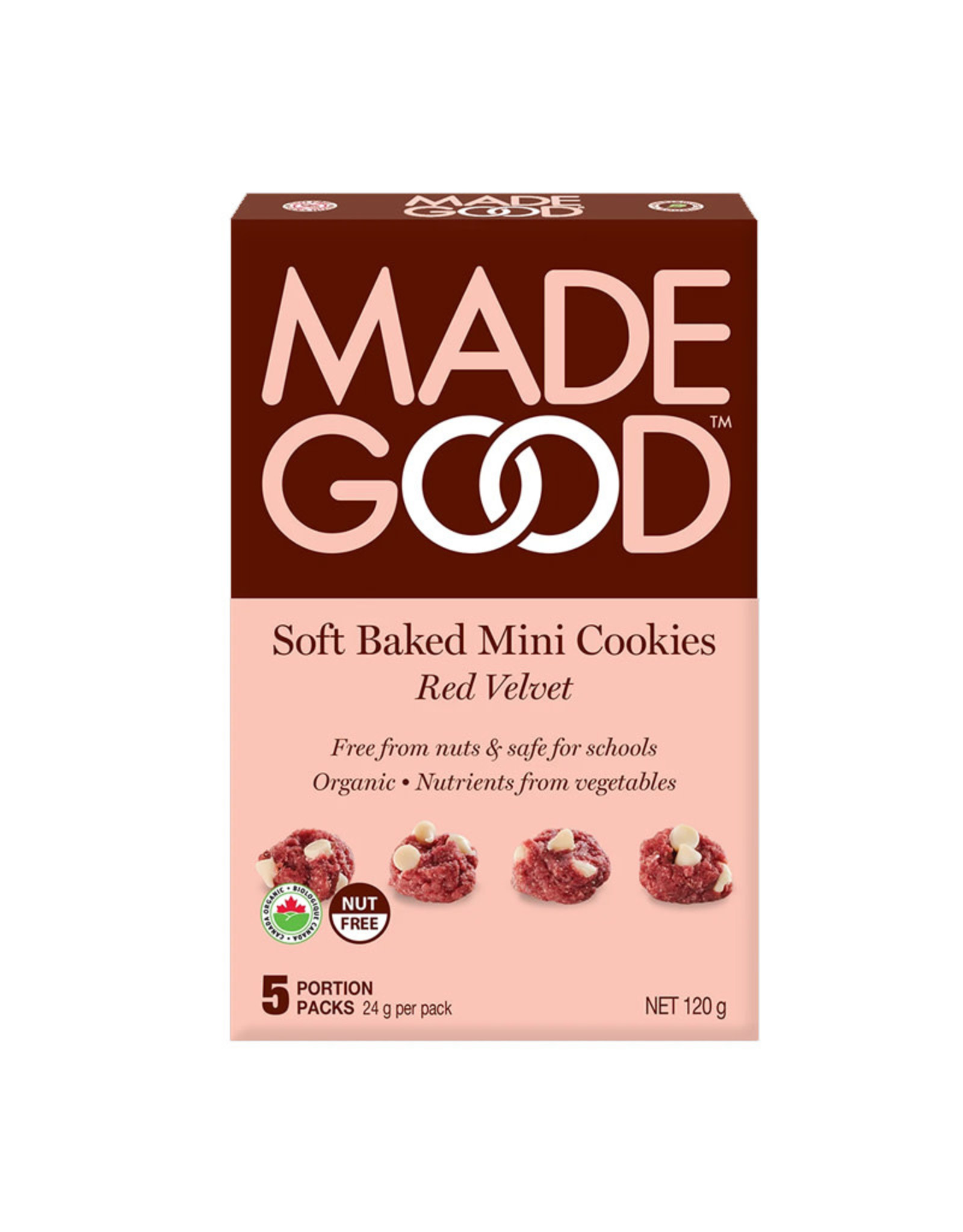 Made Good Made Good - Mini-Biscuits, Red Velvet (120g)