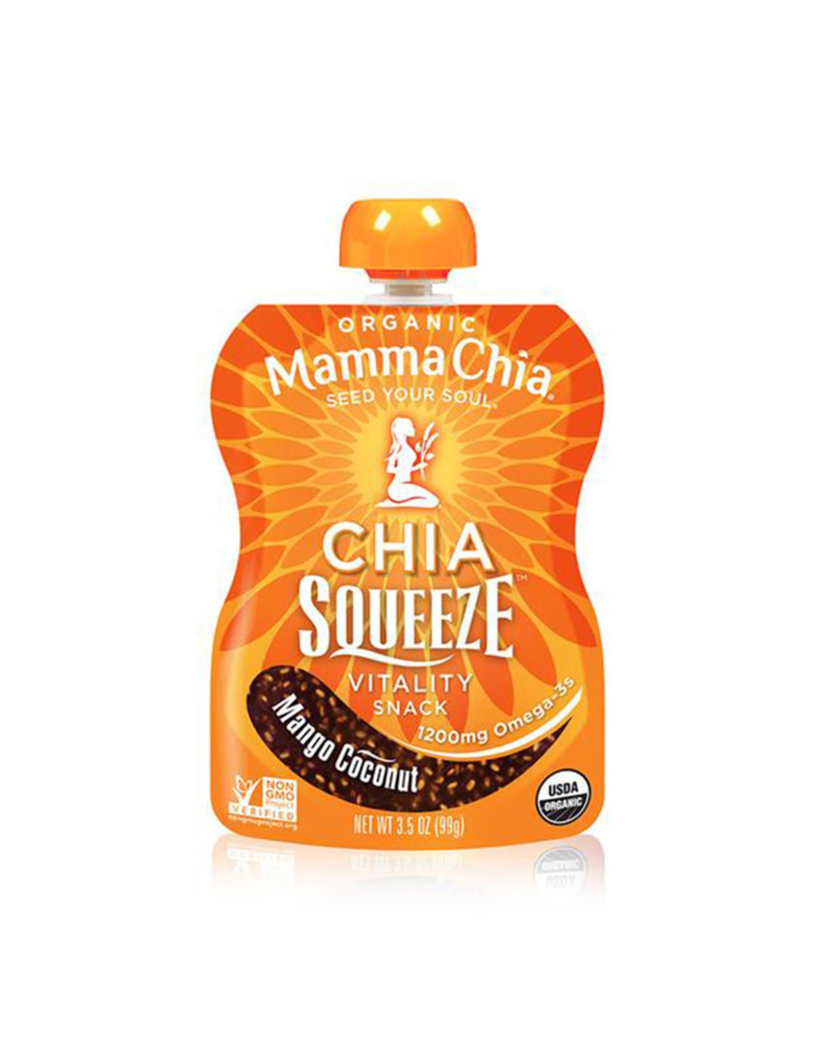 Mamma Chia Mamma Chia - Chia Squeeze, Mangue Noix de Coco (99g)