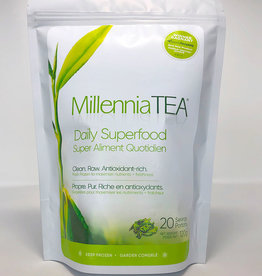 Millennia Tea Millennia Tea - Thé En Feuille Congelé Frais, Vert (120g)
