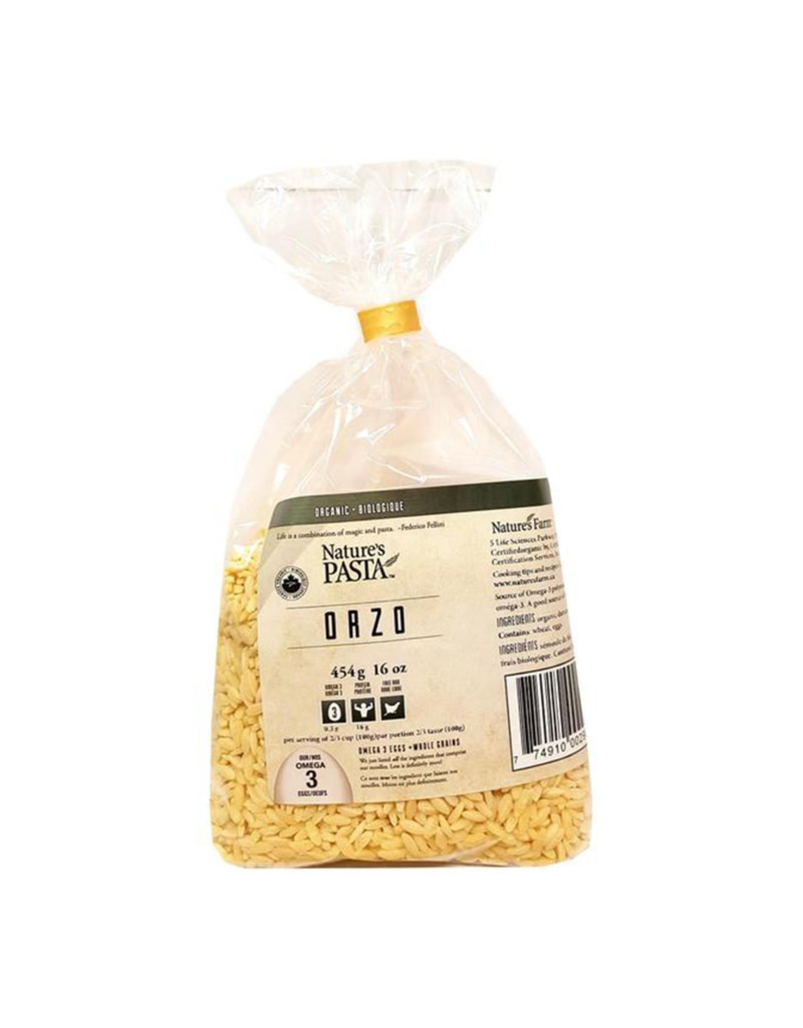 Nature's Pasta Nature's Pasta - Pâtes aux Œufs Bio, Orge (454g)