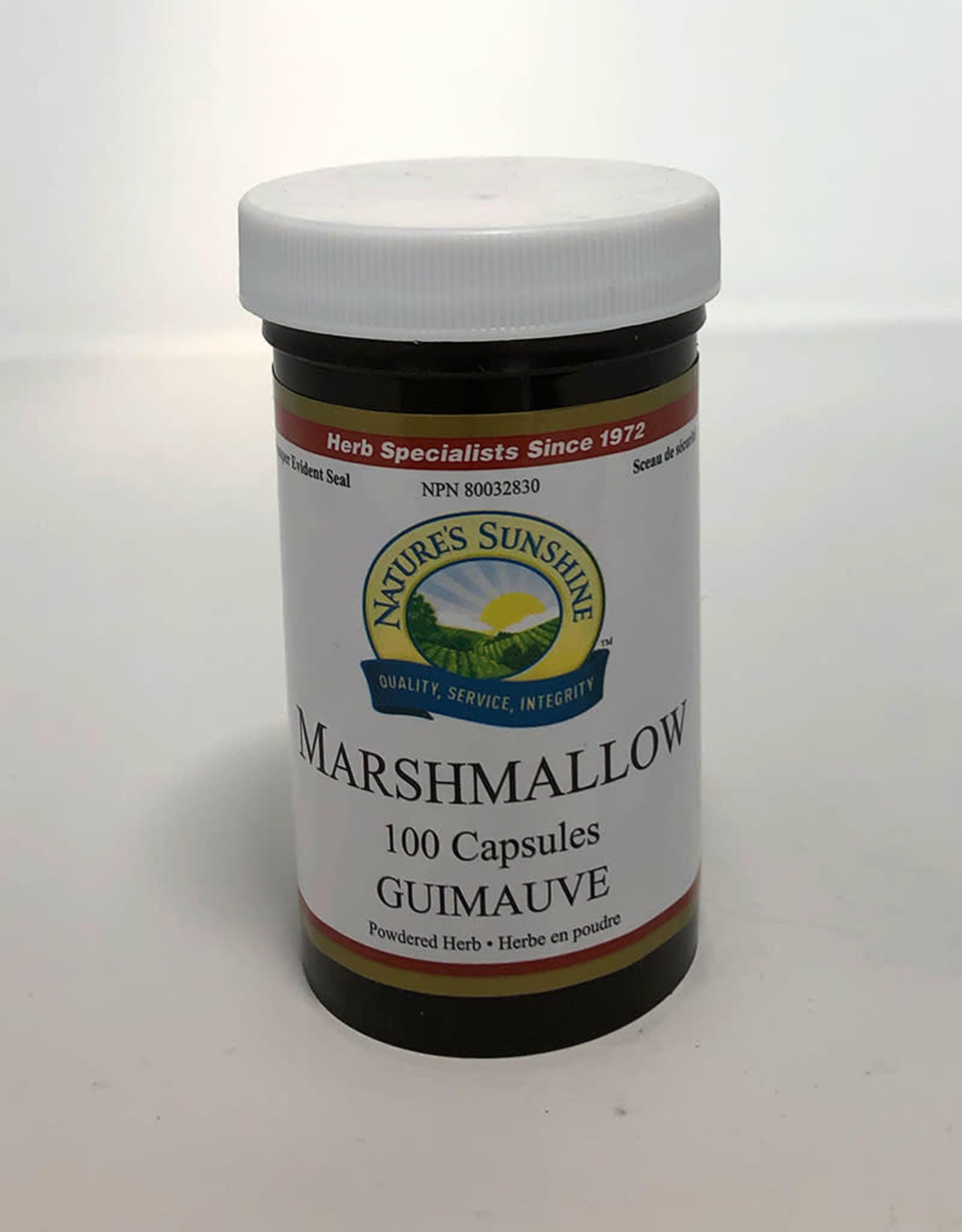Nature's Sunshine Nature's Sunshine - Suppléments, Guimauve (100cap)