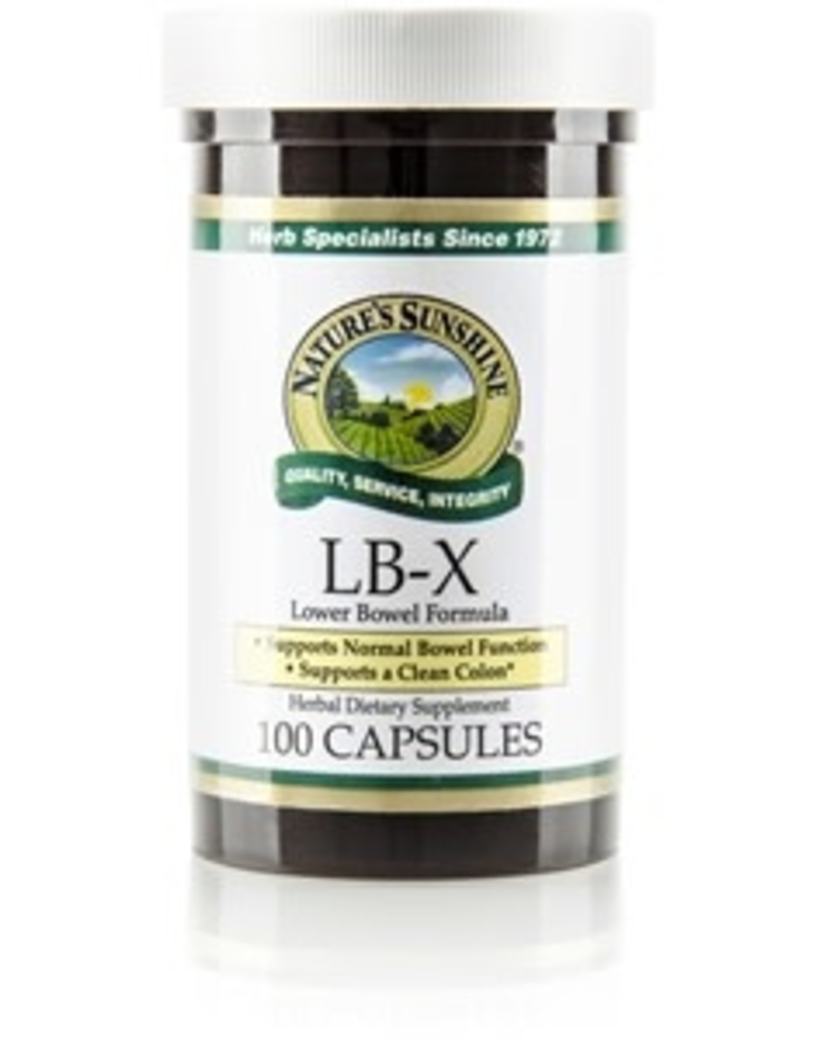 Nature's Sunshine Nature's Sunshine - Suppléments, Lb-X (100cap)