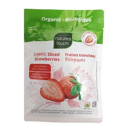 Nature's Touch Organic Nature's Touch Organic - Fruits Surgelés Bio, Fraises Tranchées (300g)
