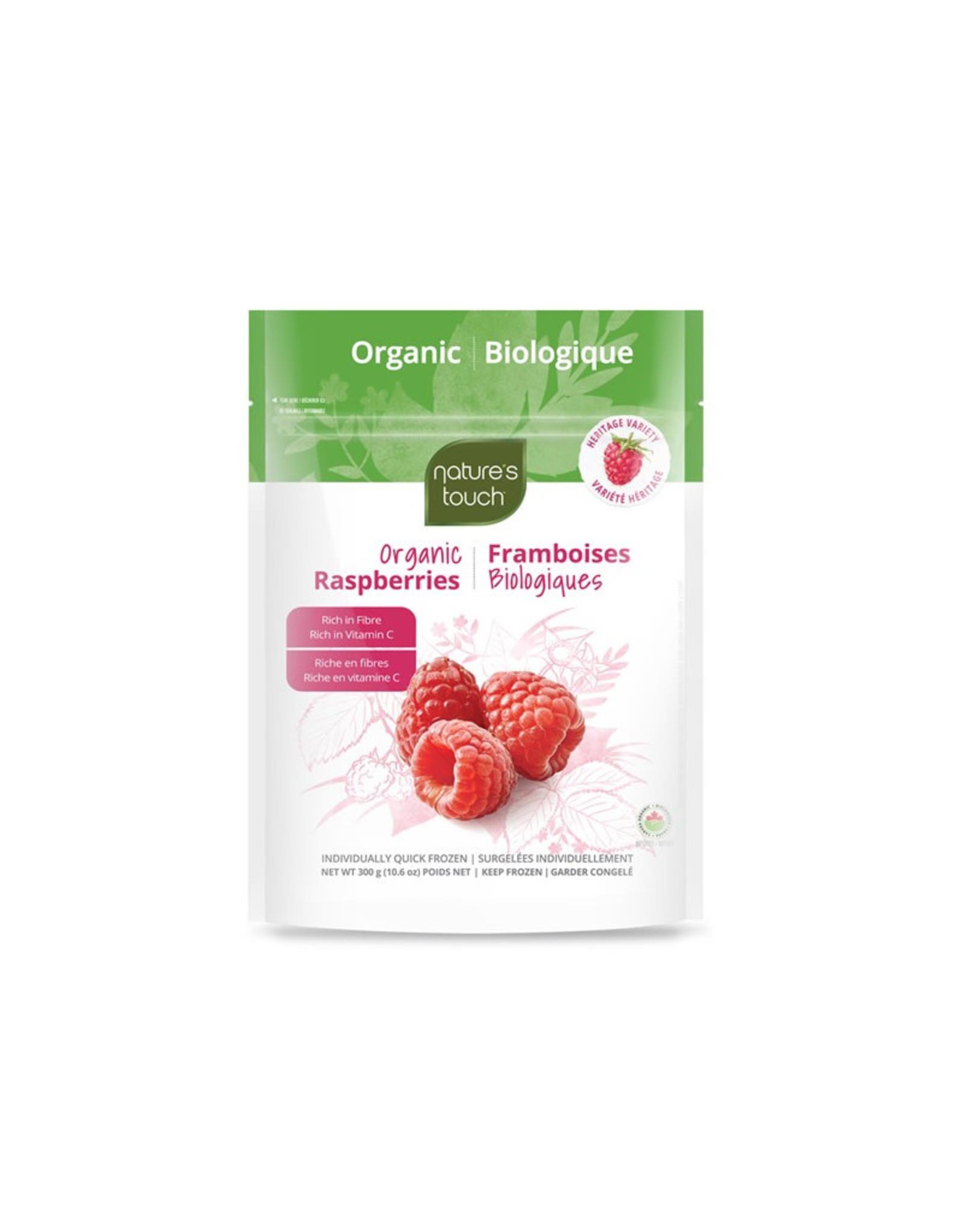 Nature's Touch Organic Nature's Touch Organic - Fruits Surgelés Bio, Framboises (300g)