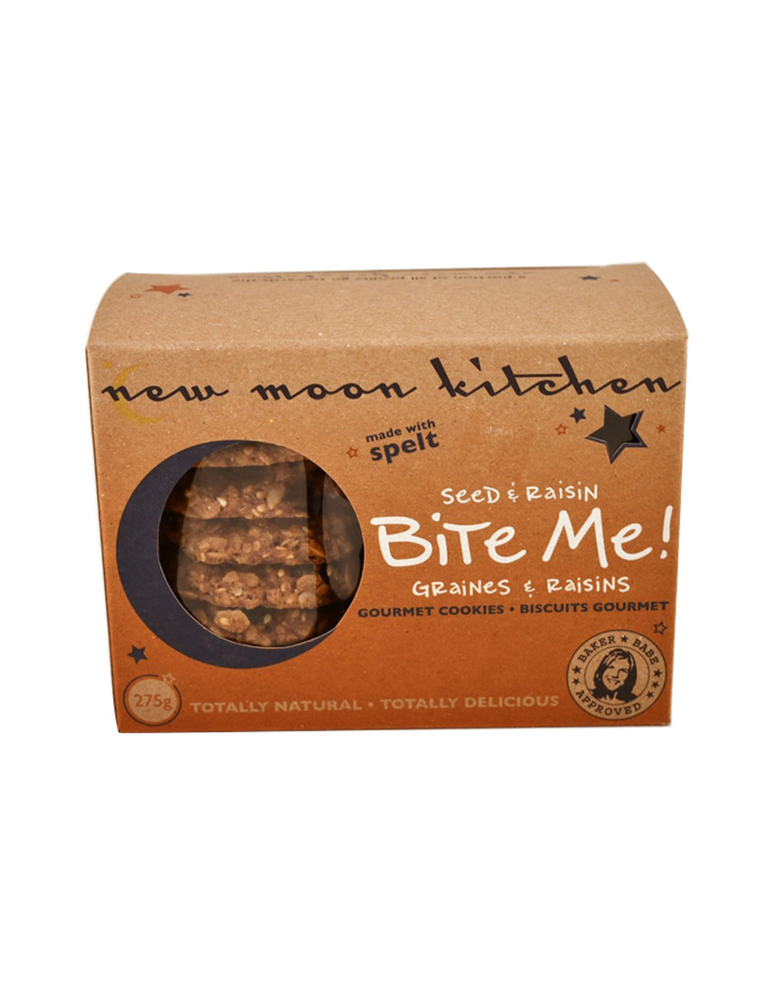 New Moon Kitchen New Moon Kitchen - Biscuits, Bite Me (Boîte) (275g)